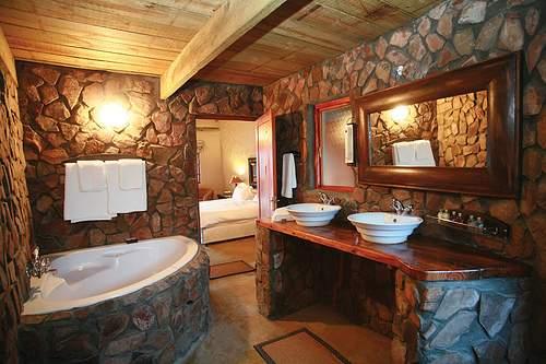 Baño piedra