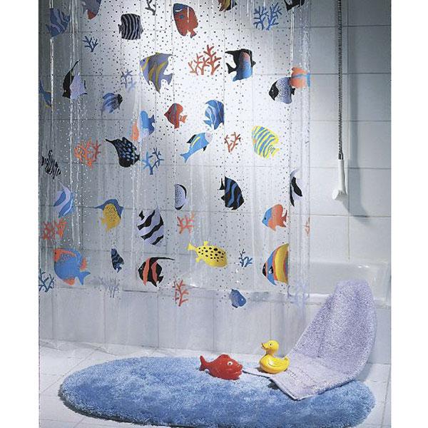Cortina Baño Infantil:Cortinas de baño