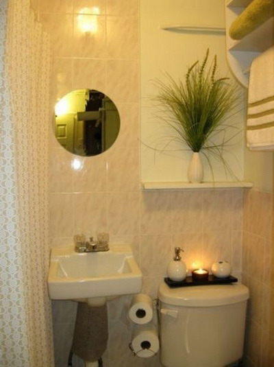 Decoracion De Baños Rectangulares Pequenos:Ideas De Decoracion Para Banos Pequenos