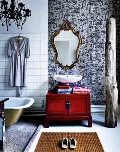 Muebles De Baño Antiguos:Un baño retro