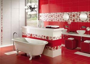 baños rojos