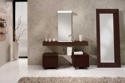Baños modernos cubos
