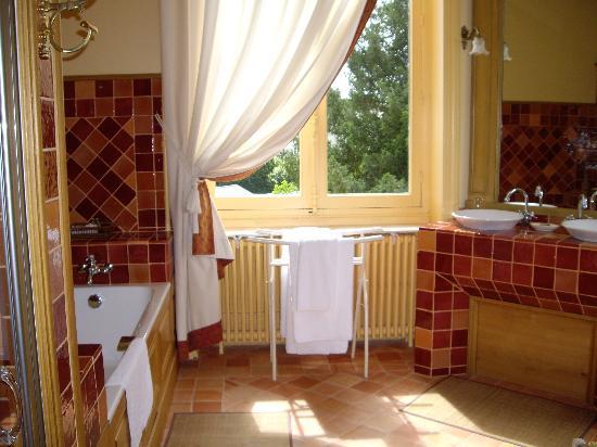 baños clasicos en rojo