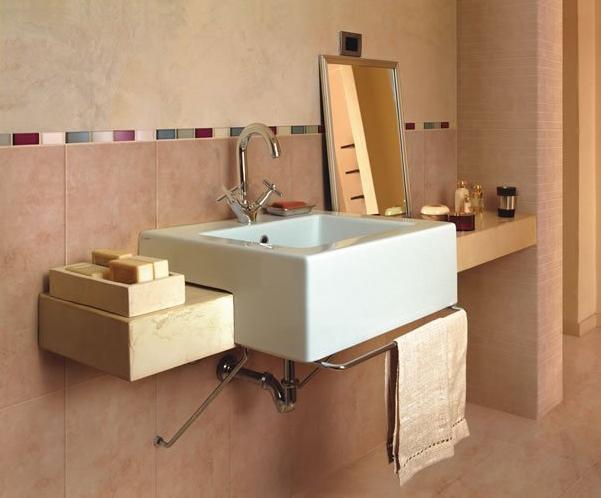 Ba o clasico con un toque moderno muebles de ba o for Banos clasicos modernos