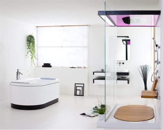 Ba o moderno minimalista muebles de ba o debanos com for Muebles de bano de diseno modernos
