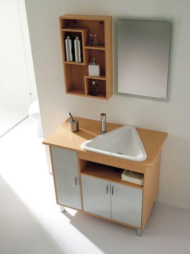 Muebles para ba o minimalista muebles de ba o debanos com for Modelos de muebles para banos modernos