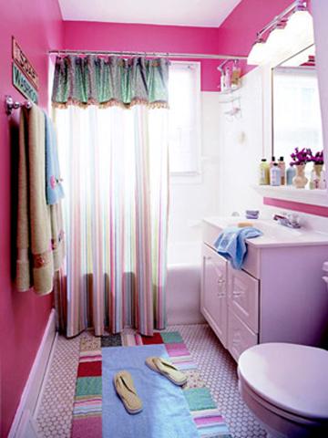 baños de niña